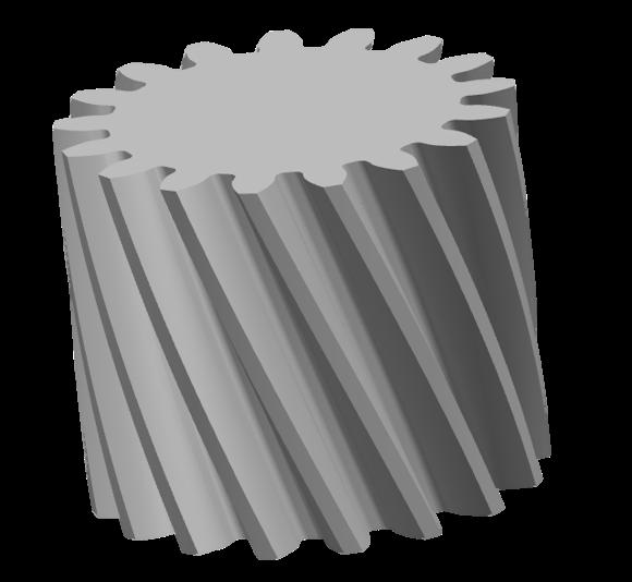 斜齿圆柱齿轮