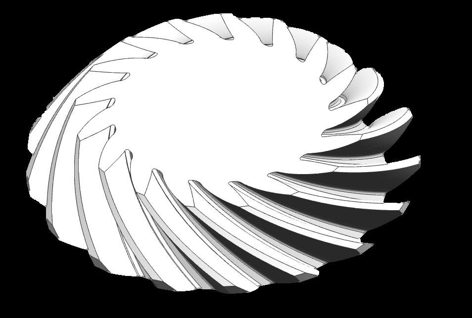 弧齿锥齿轮